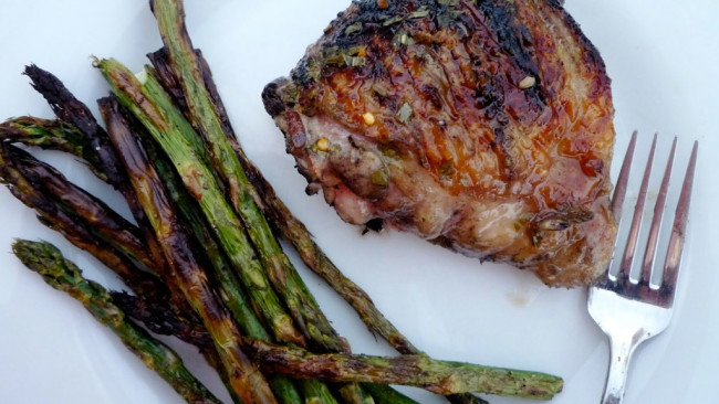Lime-Tarragon Grilled Chicken