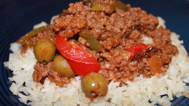 Picadillo – Spiced Ground Meat